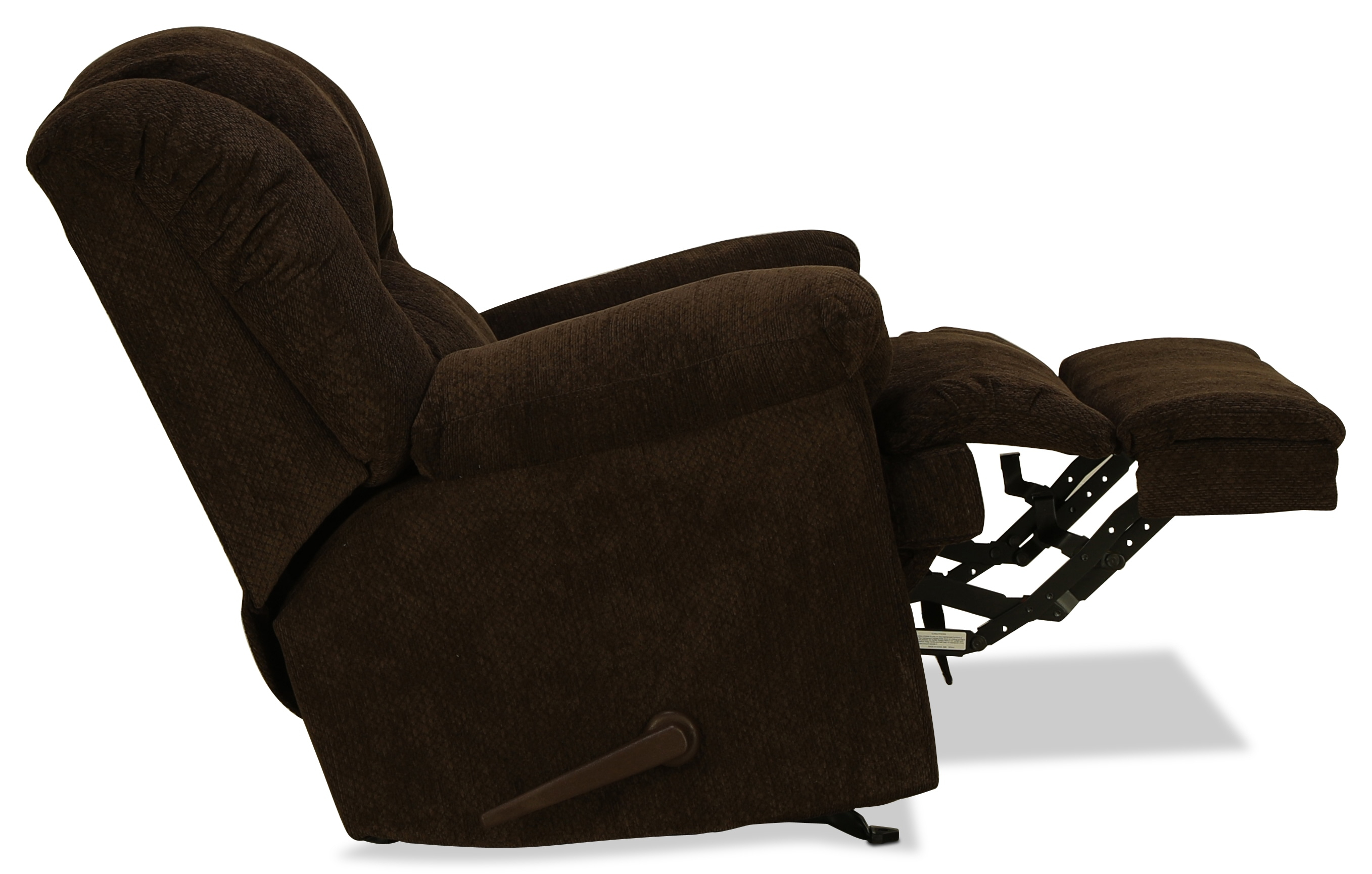 Decker Rocker Recliner – Chocolate | Intended For Decker Ii Fabric Swivel Glider Recliners (Image 6 of 25)