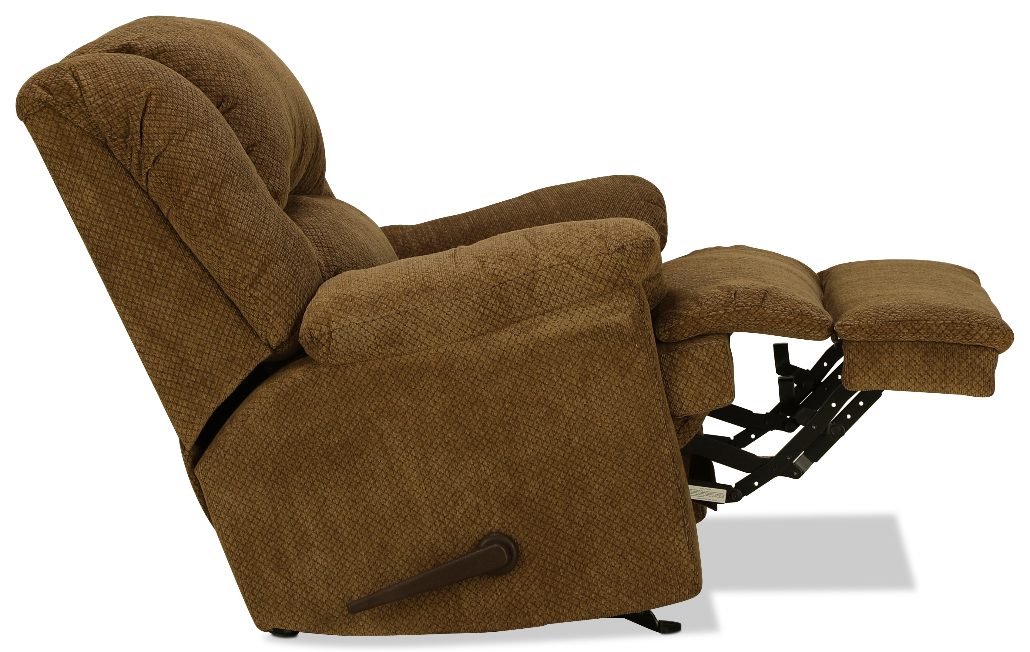 Decker Rocker Recliner - Mocha | inside Decker Ii Fabric Swivel Glider Recliners