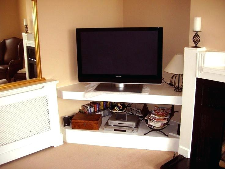 Decoration: Corner Flat Screen Tv Stand in Well-known Flat Screen Tv Stands Corner Units