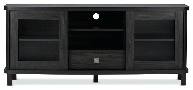 Decoration: Stunning Variety Of Contemporary Black Stands Inside in 2017 Dark Brown Corner Tv Stands