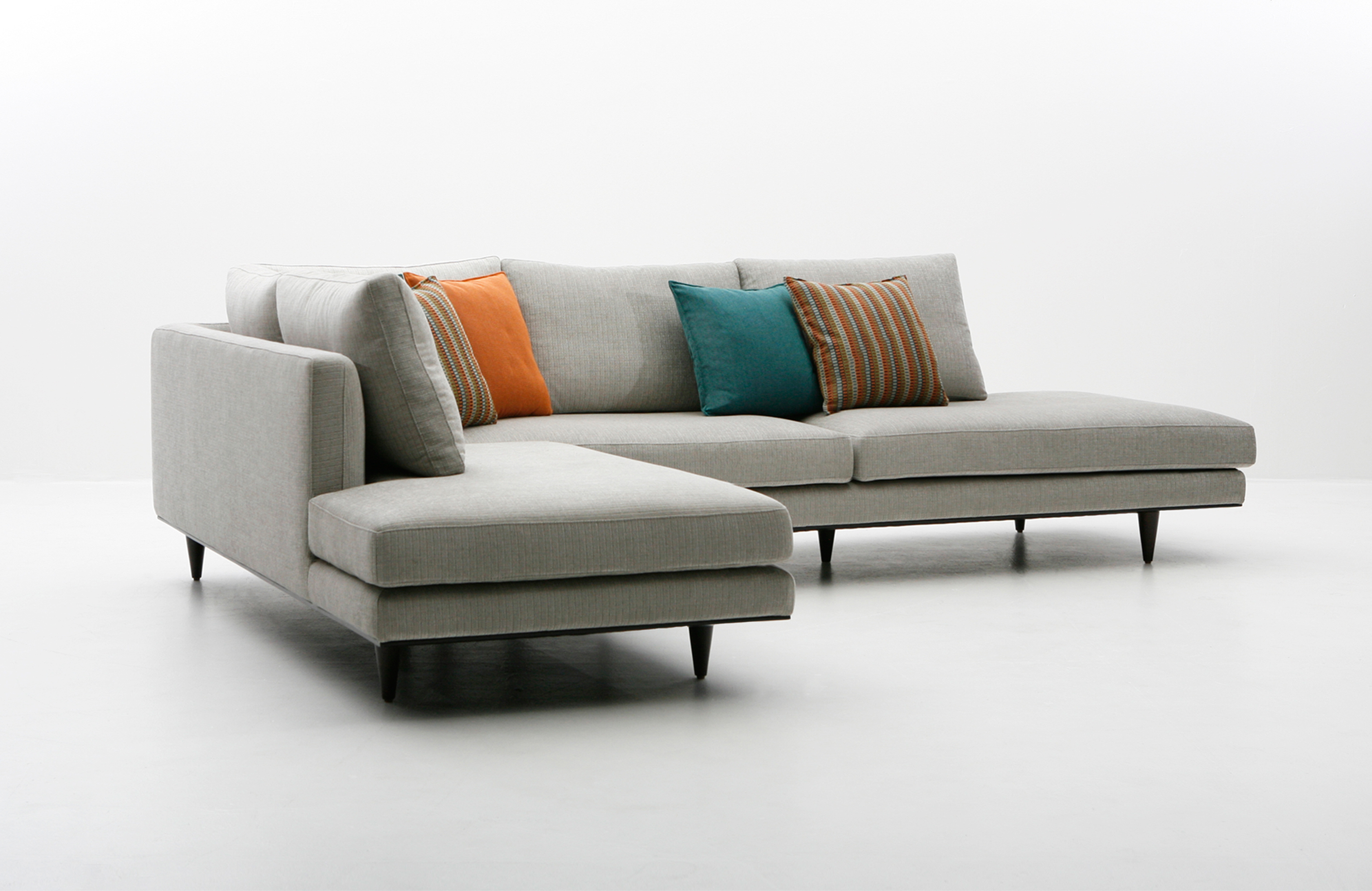 Dellarobbia Milo Sofa, Chair And Sectional | Living Room | Sklar Intended For Milo Sofa Chairs (Image 6 of 25)