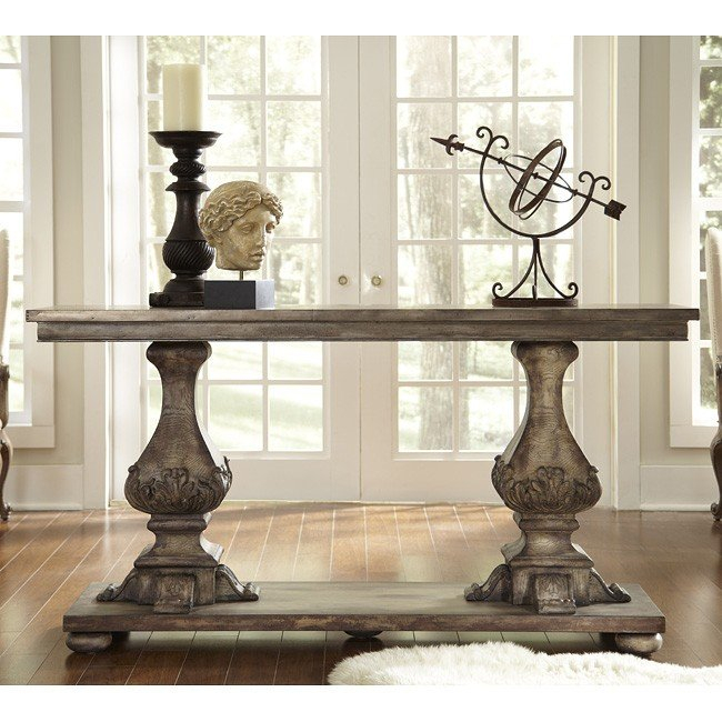 Desdemona Dining Room Set W/ Kyra Chairspulaski Furniture With Recent Kyra Console Tables (Image 7 of 25)