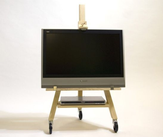 Featured Photo of Small Tv Stands On Wheels