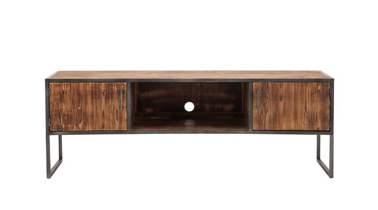 "Devonshire 60"" Tv Stand, Driftwood Throughout Popular Wakefield 85 Inch Tv Stands (Image 4 of 25)"