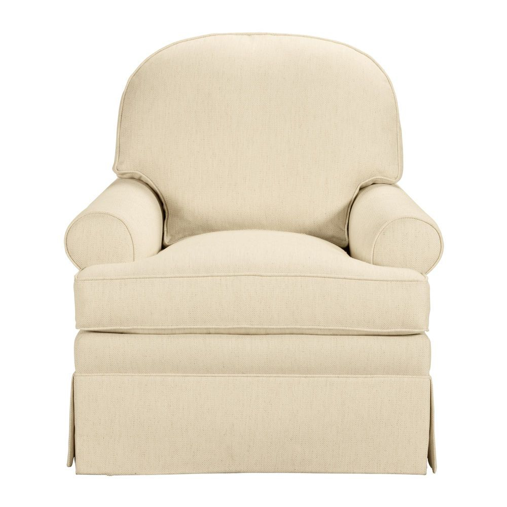 Devonshire Chair – Ethan Allen Us Navy Fabric Available For $1300+ In Devon Ii Swivel Accent Chairs (View 3 of 25)