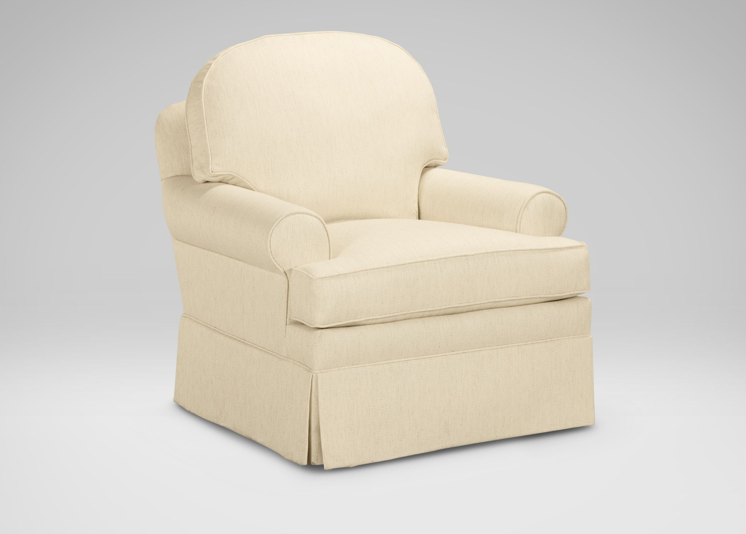 Devonshire Swivel Glider ($1,319) | Ethan Allen | For The Home In Devon Ii Swivel Accent Chairs (View 5 of 25)