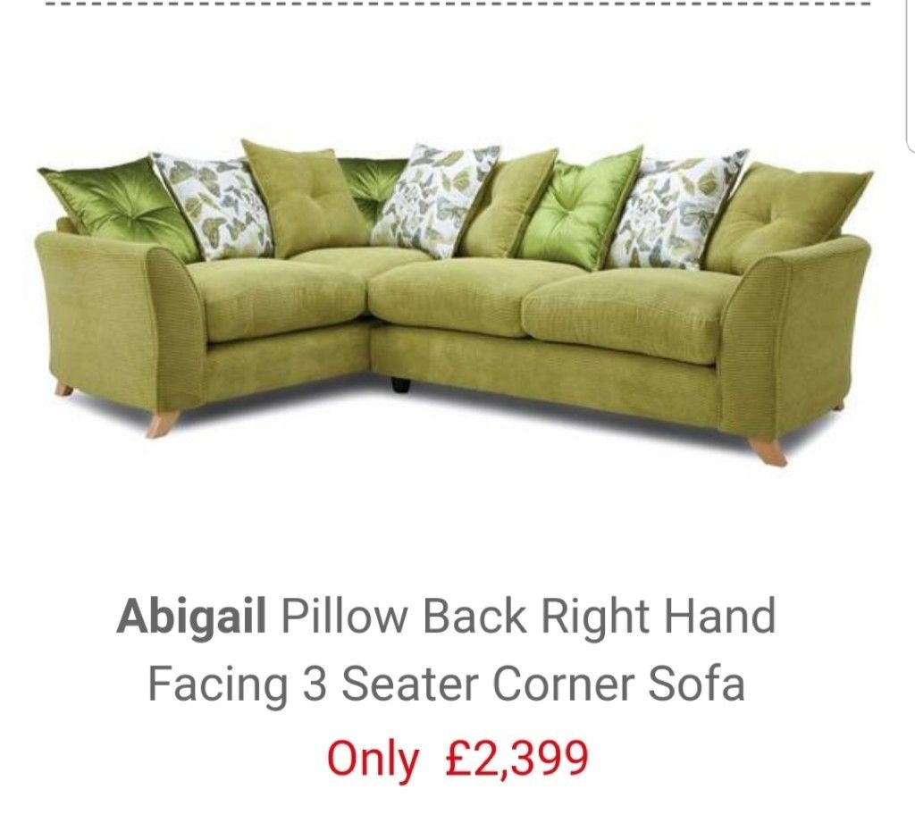 Dfs Corner Sofa And Matching Arm Chair | In Newport | Gumtree With Abigail Ii Sofa Chairs (View 18 of 25)