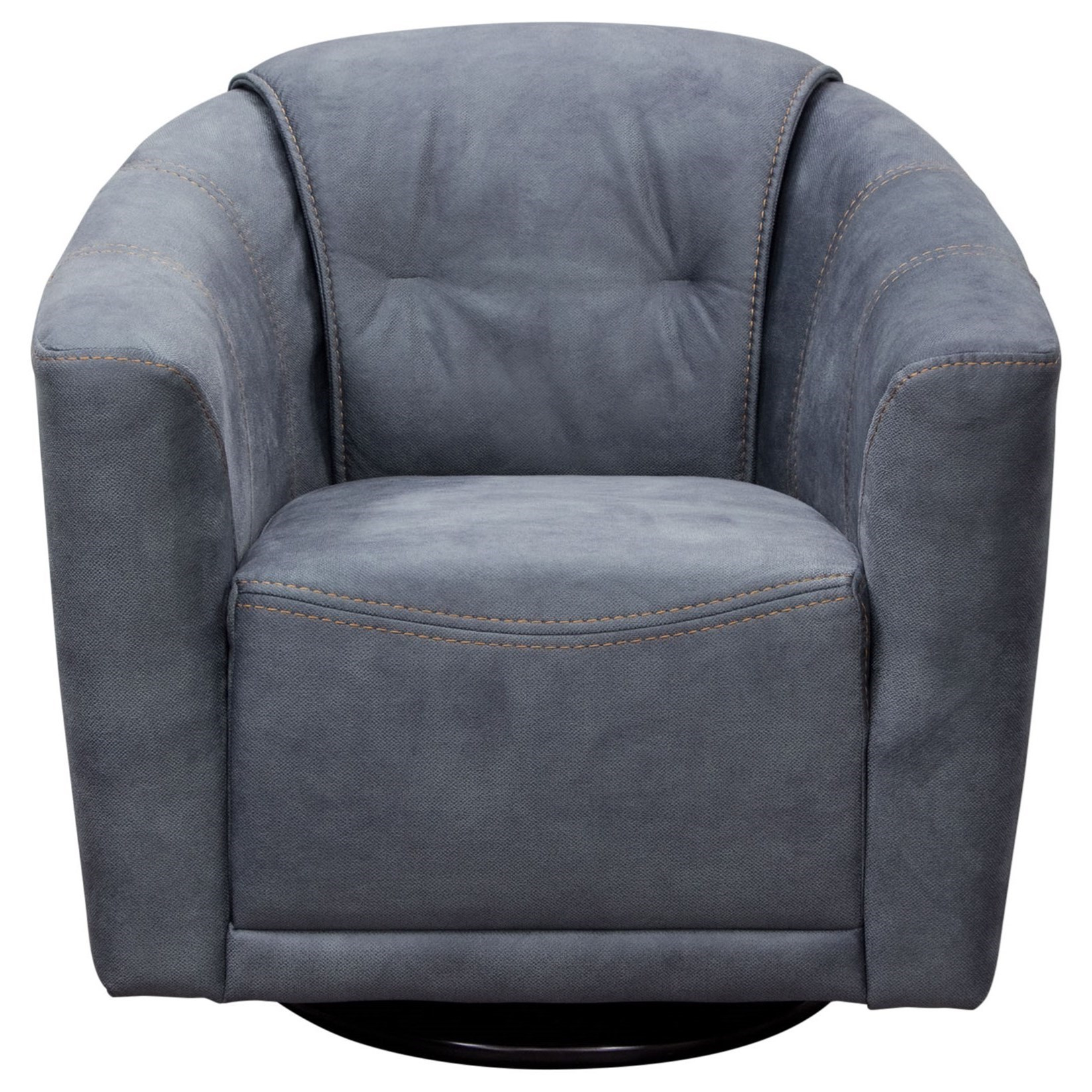 Diamond Sofa Accent Chairs Murphychgr Swivel Accent Chair In Light inside Umber Grey Swivel Accent Chairs