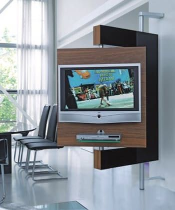 Diecollection's Media Stand Keeps Your Tv Upright And Doing The with Current Upright Tv Stands