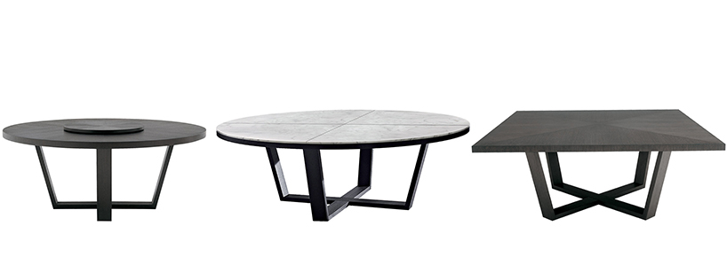 Dining & Kitcken Tables Throughout Newest Oscar 60 Inch Console Tables (Image 6 of 25)