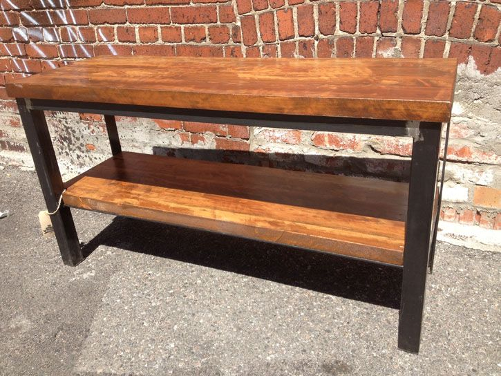 Diy throughout Best and Newest Reclaimed Wood and Metal Tv Stands
