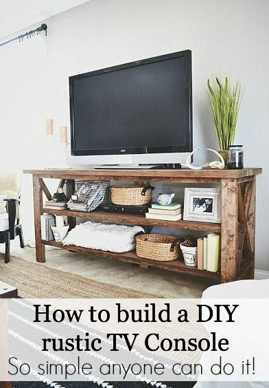 Diy Tv, Diy Furniture, Home Decor