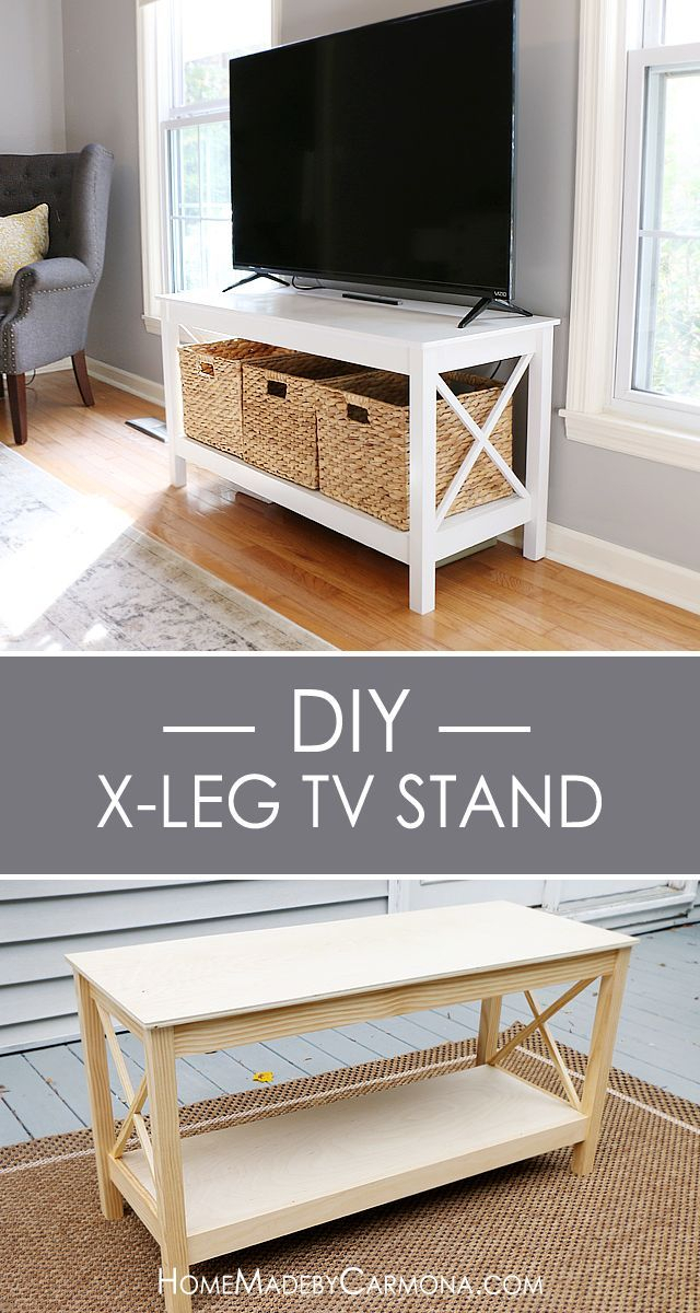 Diy Tv Stand, Diy Furniture (Image 3 of 25)