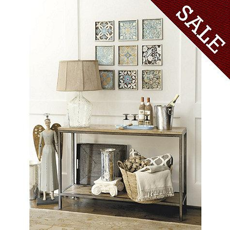 Durham Console Table – Tables – Ballard Designs In Well Known Intarsia Console Tables (Image 14 of 25)
