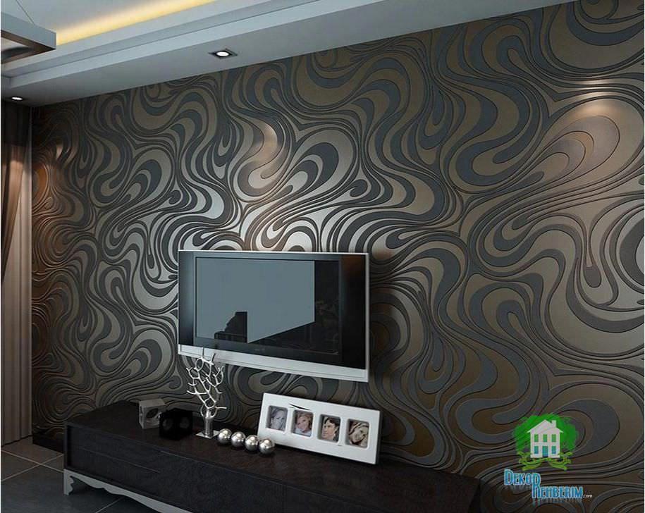 Duvar Kağıtlı Tv Üniteleri, Tv Ünitesi Arkası Duvar Kağıdı, Tv In Well Known Ducar 74 Inch Tv Stands (Image 9 of 25)
