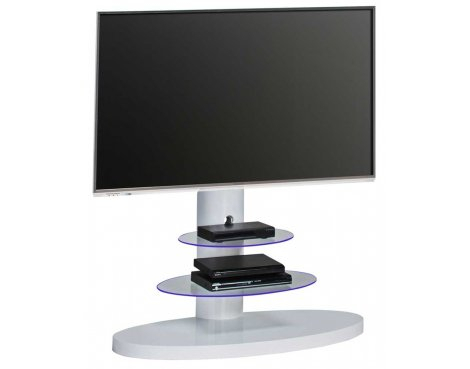 Ebay Pertaining To Fashionable White Cantilever Tv Stand (View 4 of 25)