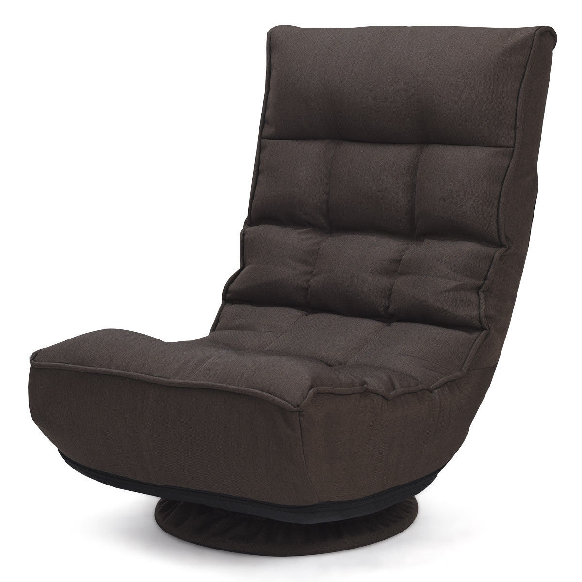 Ebern Designs Brentford Swivel Lounge Chair | Wayfair Regarding Decker Ii Fabric Swivel Rocker Recliners (Image 9 of 25)