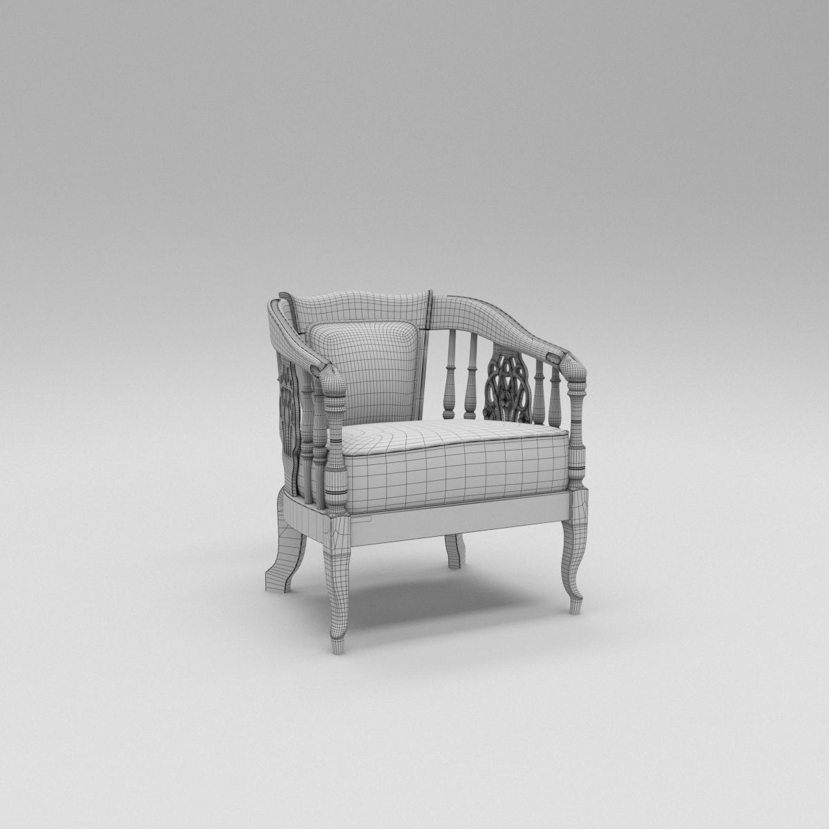 El Marissa Sofa 3D Model | Cgtrader Intended For Marissa Sofa Chairs (View 20 of 25)