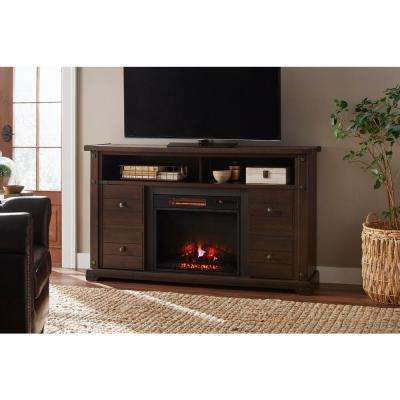 Electric Fireplaces – Fireplaces – The Home Depot For Popular Dixon Black 65 Inch Highboy Tv Stands (Image 6 of 25)
