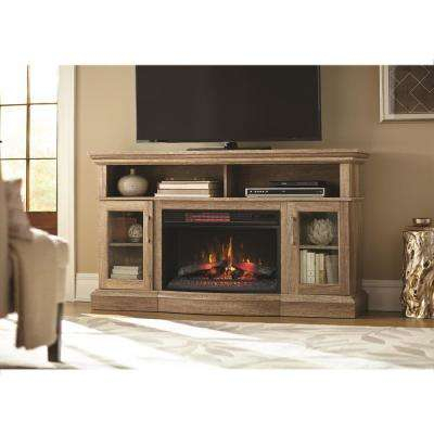 Electric Fireplaces – Fireplaces – The Home Depot For Popular Dixon Black 65 Inch Highboy Tv Stands (Image 5 of 25)