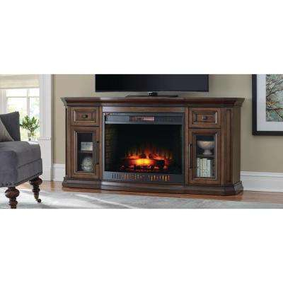 Electric Fireplaces – Fireplaces – The Home Depot Pertaining To Widely Used Dixon Black 65 Inch Highboy Tv Stands (Image 8 of 25)