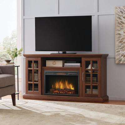 Electric Fireplaces – Fireplaces – The Home Depot With Regard To Widely Used Dixon Black 65 Inch Highboy Tv Stands (Image 9 of 25)