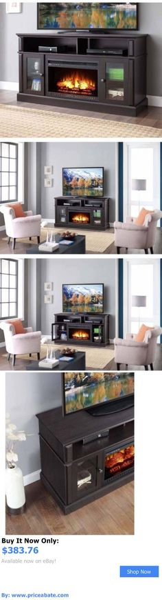 Electric Fireplaces For Well Liked Kilian Grey 49 Inch Tv Stands (View 15 of 25)