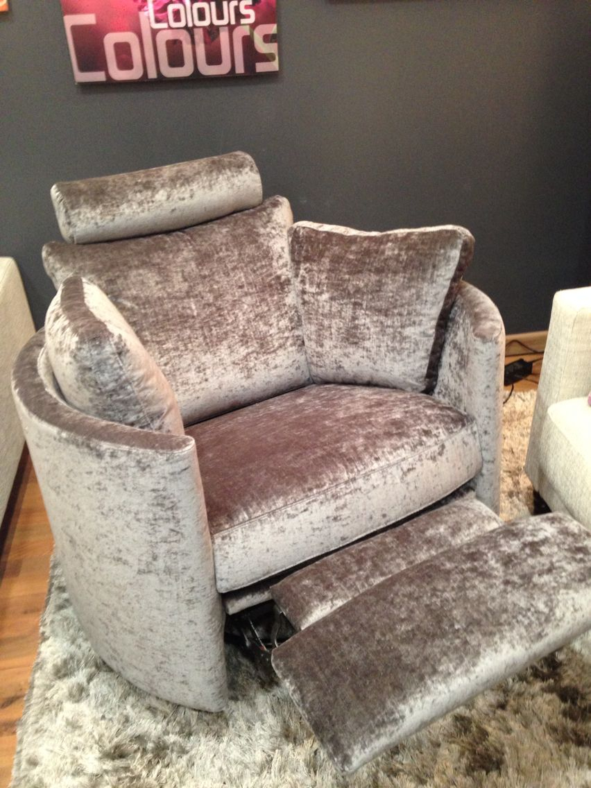 Electric, Swivel, Rocking, Recliner Chair. This Is In Modena Crushed Within Alder Grande Ii Swivel Chairs (Photo 14 of 25)