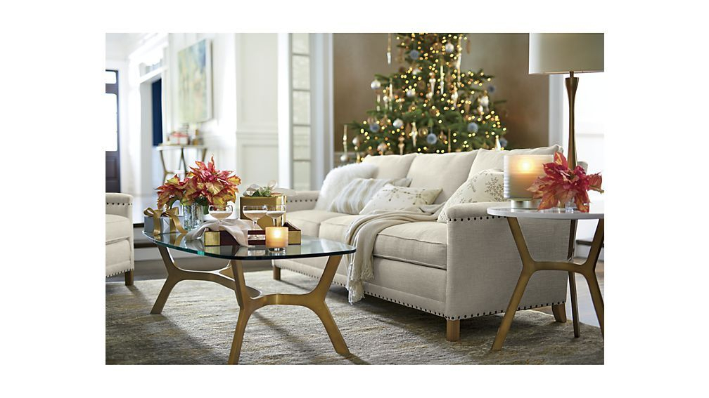 Elke Rectangular Glass Coffee Table – Crate And Barrel (View 14 of 25)