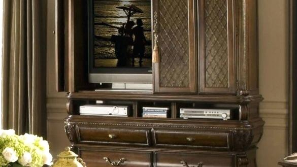 Enclosed Tv Cabinet Furniture Stunning Enclosed Cabinet Corner With Regarding Fashionable Enclosed Tv Cabinets With Doors (Photo 15 of 25)