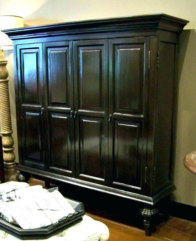 Enclosed Tv Cabinet (Photo 21 of 25)
