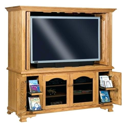 Enclosed Tv Cabinets For Flat Screens With Doors Heritage Enclosed Inside Widely Used Enclosed Tv Cabinets With Doors (View 16 of 25)