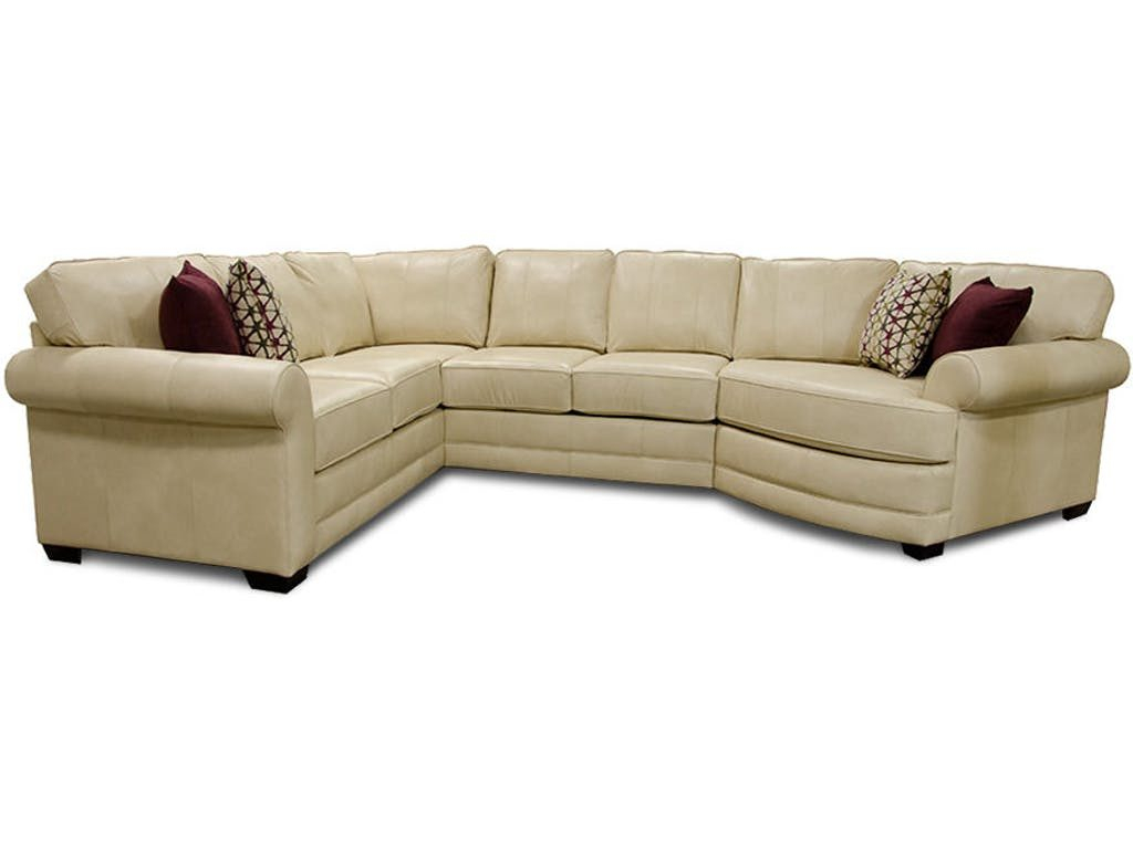 England Furniture Landry Sectional 5630Al : Gamburgs Furniture regarding Landry Sofa Chairs