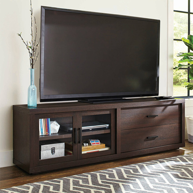 Entertainment Stands Cheap Display Product Reviews For Sinclair Grey In Well Known Sinclair Grey 74 Inch Tv Stands (Image 6 of 25)