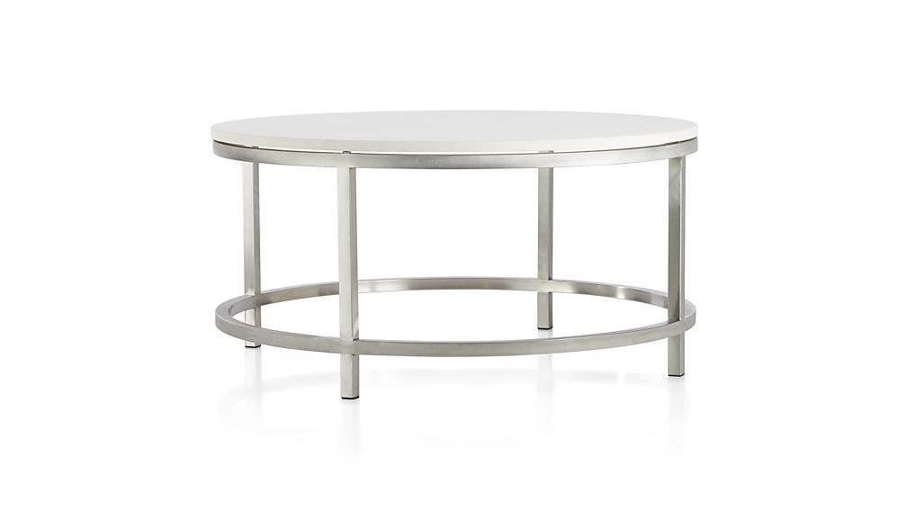 Era Limestone Round Coffee Table + Reviews (View 3 of 25)