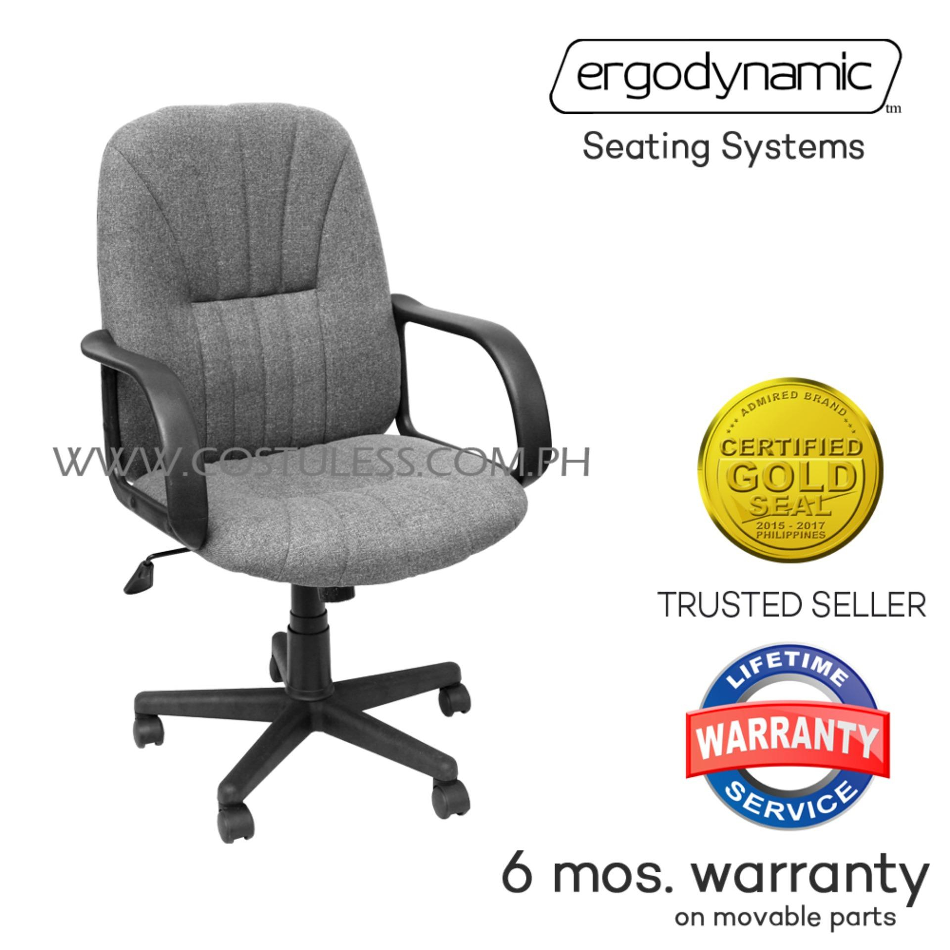 Ergodynamic Philippines: Ergodynamic Price List – High & Low Back Throughout Chill Swivel Chairs With Metal Base (Photo 12 of 25)