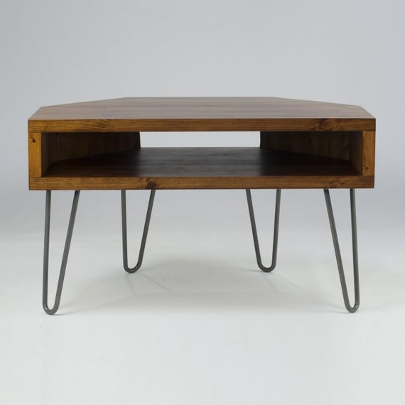 Etsy Throughout Most Popular Retro Corner Tv Stands (Photo 6697 of 7746)