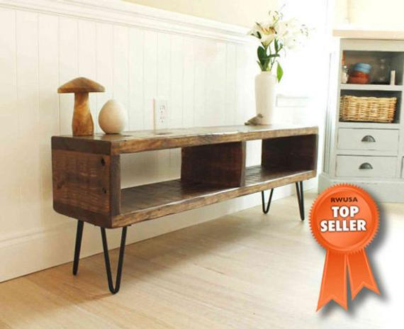 Etsy With Preferred Reclaimed Wood And Metal Tv Stands (Photo 7328 of 7746)