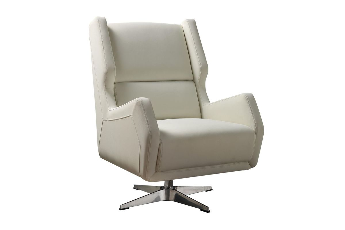 Eudora Ii Accent Chair In Whiteacme At Gardner White For Amari Swivel Accent Chairs (Photo 23 of 25)