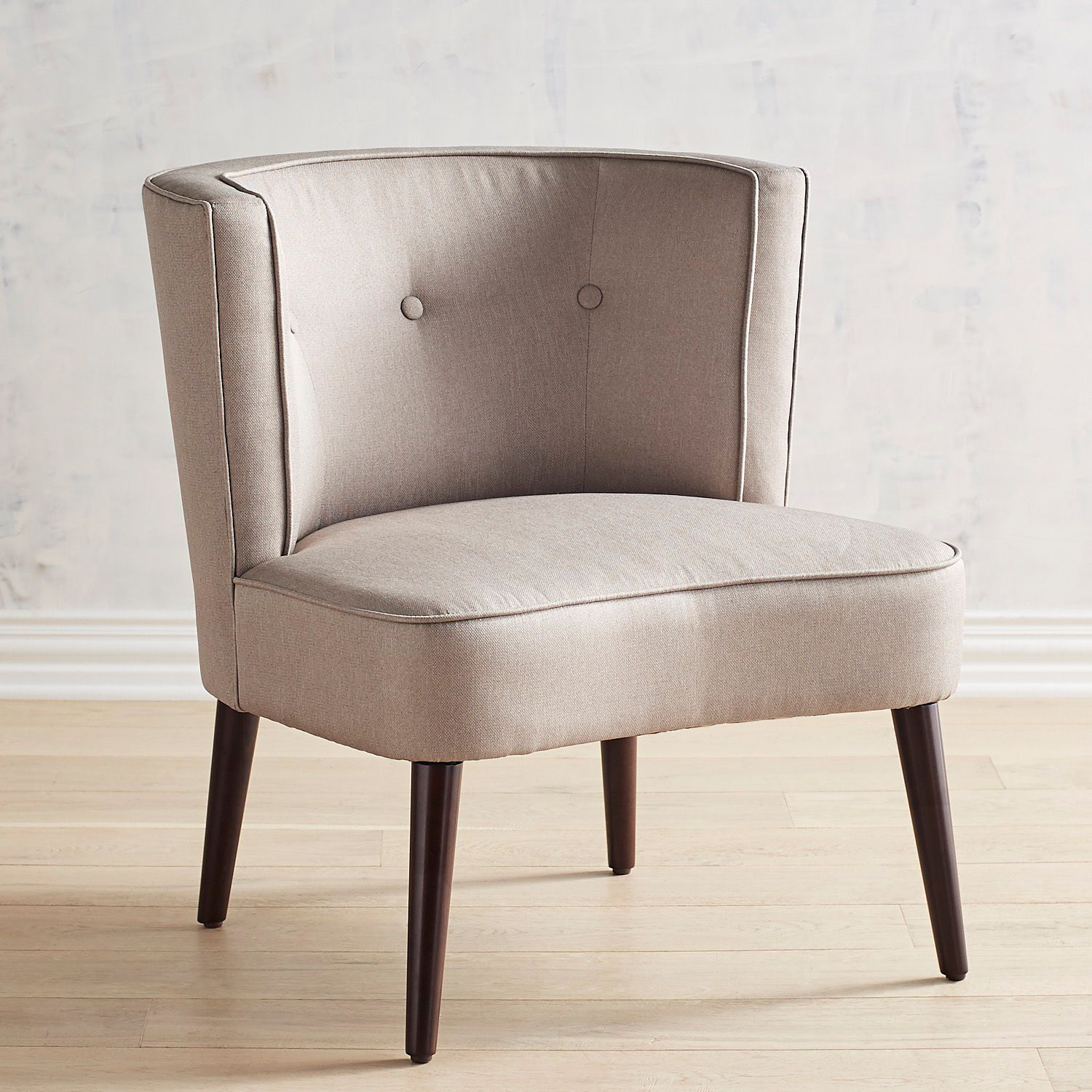 Evie Gray Chair In 2018 | Beachy Keen | Chair, Living Room Chairs Throughout Devon Ii Swivel Accent Chairs (View 12 of 25)