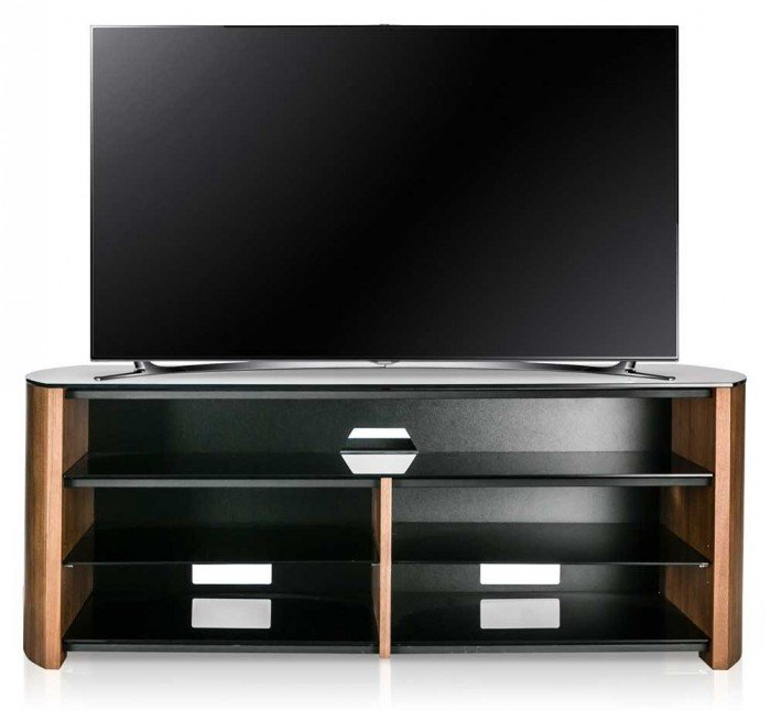 Famous Alphason Tv Cabinet Intended For Alphason Finewoods Walnut Soundbar Ready Tv Stand – Fw1350Sb W (Image 12 of 25)
