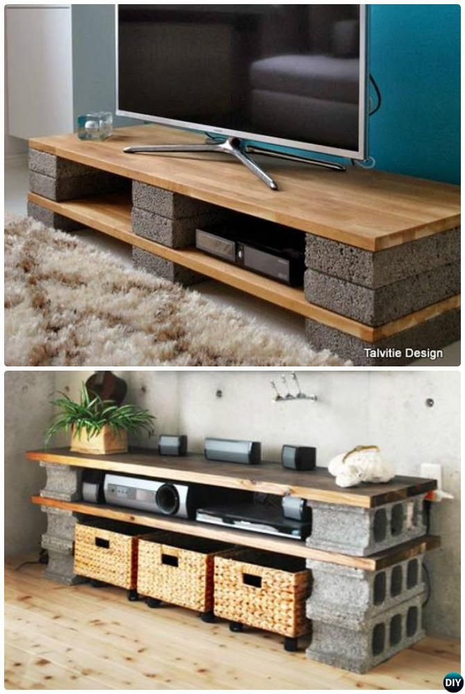 [%Famous Bale Rustic Grey 82 Inch Tv Stands Pertaining To 10 Unexpected Diy Concrete Block Furniture Projects [Picture|10 Unexpected Diy Concrete Block Furniture Projects [Picture With Famous Bale Rustic Grey 82 Inch Tv Stands%] (Image 1 of 25)