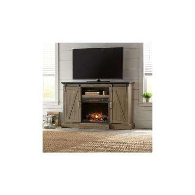 Famous Canyon 54 Inch Tv Stands Intended For Fireplace Tv Stands – Electric Fireplaces – The Home Depot (View 15 of 25)