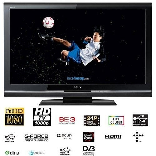 """Famous Combs 63 Inch Tv Stands For Sony Bravia Kdl 40V5500 40"""" Full Hd Lcd Tv – Incehesap (View 25 of 25)"""