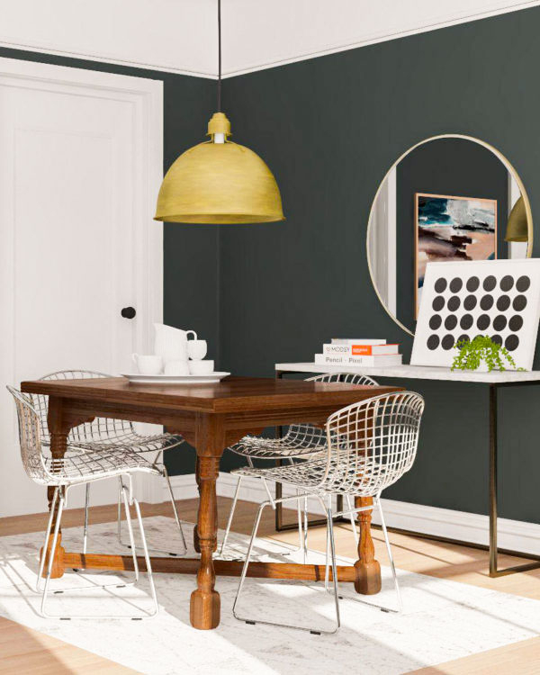 Famous Mix Patina Metal Frame Console Tables Within 5 Ways To Mix Vintage Pieces Into Modern Spaces (Image 9 of 25)