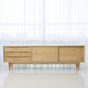 Famous Oak Furniture Tv Stands Pertaining To Scandinavian And Contemporary Modern Oak Tv Stand Credenza – Buy (View 8 of 25)