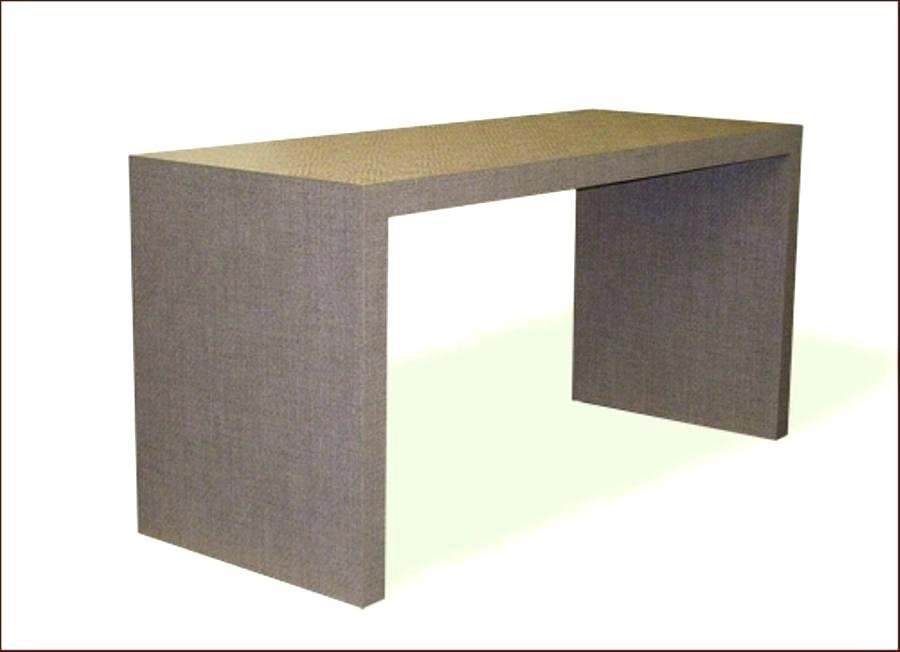 Famous Parsons Walnut Top & Elm Base 48X16 Console Tables With Regard To Concrete Parsons Console Table — Terrariumtvshows (Image 8 of 25)