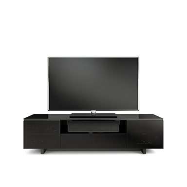 Famous Slim Tv Stands Regarding Nora Slim 8239 S Tv Stand – Bdi Designer Tv Stands And Cabinets For (Image 11 of 25)