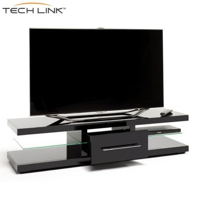 Famous Techlink Echo Ec130Tvb Tv Stand With Techlink Ec150B Echo Xl Piano Gloss Black Tv Stand (405705) (Image 4 of 25)