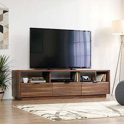 Famous Wakefield 97 Inch Tv Stands Inside Entertainment Center – Tv Stands – Living Room Furniture – The Home (Image 6 of 25)